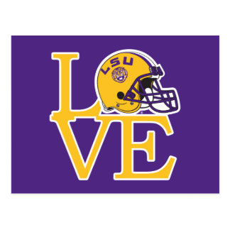 LSU Love Postcard