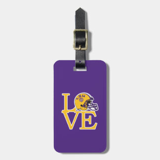 LSU Love Tag For Luggage