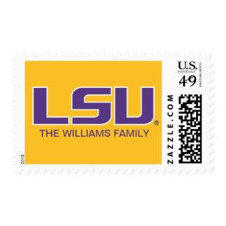 LSU Purple Postage
