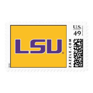 LSU Purple Stamp