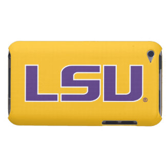 LSU Purple & White Logo iPod Touch Cases
