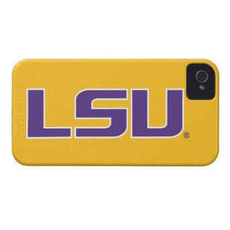 LSU Purple & White Logo iPhone 4 Cases