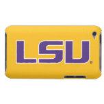LSU Purple & White Logo iPod Touch Cases