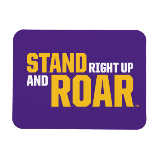 LSU | Stand Right Up And Roar Magnet