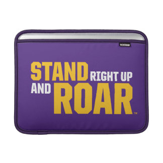 LSU | Stand Right Up And Roar Sleeve For MacBook Air