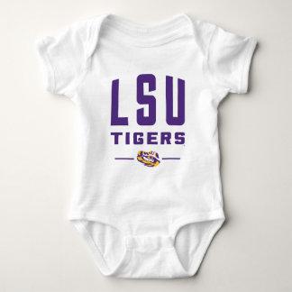 LSU Tigers   Louisiana State 2 Baby Bodysuit