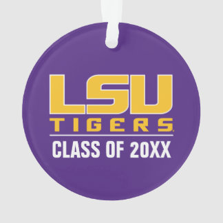 LSU Tigers with Tiger Eye Class Year Ornament