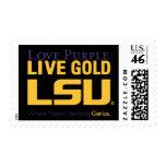 LSU Where Passion Becomes Genius Stamp