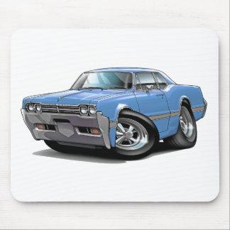 Lt 1966 del machete de Olds Blue Car Alfombrillas De Ratones