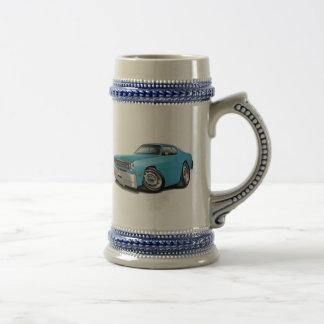 Lt 1970-74 del plumero Blue Car Jarra De Cerveza