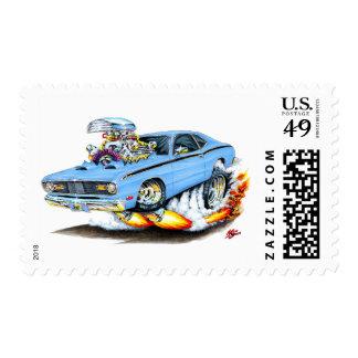 Lt 1970-74 del plumero de Plymouth Blue Car Envio