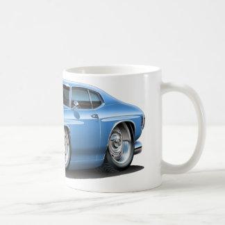 Lt 1971-72 de Chevelle Blue Car Taza De Café