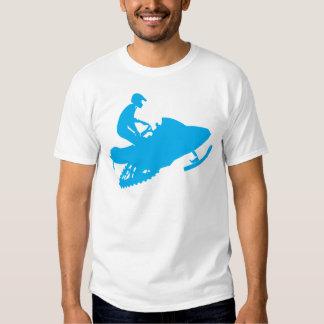 LT-Azul-Snowmobiler Playeras