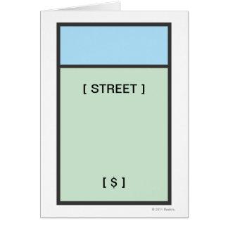 Lt. Blue Space Card