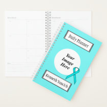 Lt Blue / Teal Standard Ribbon by Kenneth Yoncich Planner