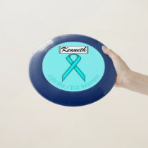 Lt Blue / Teal Standard Ribbon by Kenneth Yoncich Wham-O Frisbee