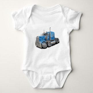 Lt Blue Truck de Kenworth w900 Playeras