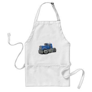 Lt Blue Truck del Superliner de Mack Delantal