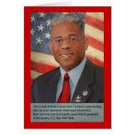 Lt. Col. Allen West Greeting Card