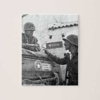 Lt. Col. Lyle Bernard, CO, imagen 30th_War Puzzle