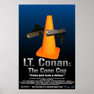 Lt. Conan: The Cone Cop Movie Poster