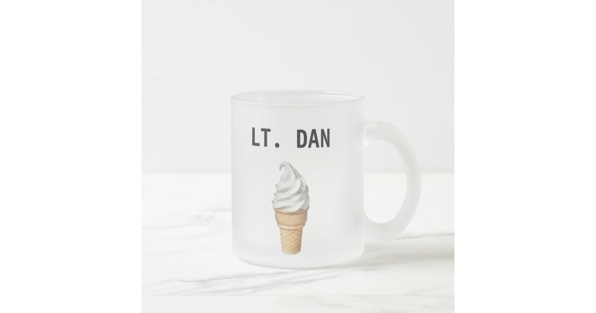 Lieutenant Dan Ice Cream Shirt Lt. Dan icecream cup |...
