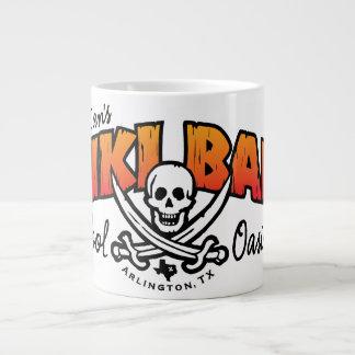 Lt. Dan's Tiki Bar & Pool Oasis 20 Oz Large Ceramic Coffee Mug