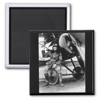 Lt. Earl Carroll, prominent composer_War image 2 Inch Square Magnet