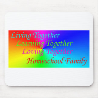 LT Homeschool Family Mouse Pad