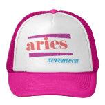 Lt Pink del aries Gorras