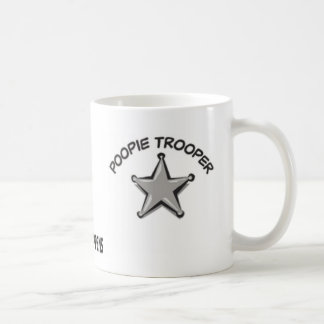 Lt. Poopies Mug - Funny Way To Start A Day,Cup