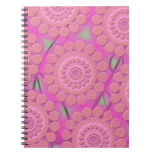 lt púrpura libretas espirales