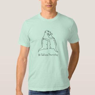 . Lt #TablessThursday GreenShirt de Meerkat de la Remera