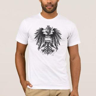 Lt Text del escudo de armas de la roca del dragón Playera