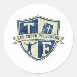 LTF_badge Pegatina Redonda