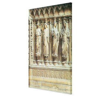 (LtoR) The Annunciation and the Visitation, right- Canvas Print