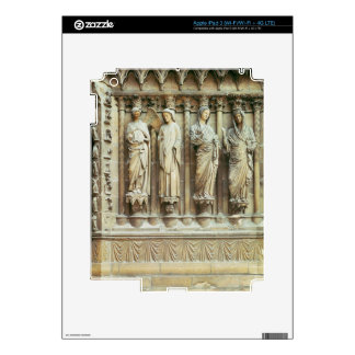 (LtoR) The Annunciation and the Visitation, right- iPad 3 Decal