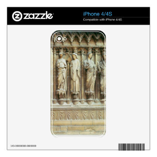 (LtoR) The Annunciation and the Visitation, right- Skin For iPhone 4