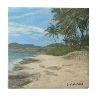 Lualualei Beach Tile