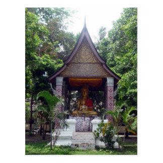 luang buddha postcard