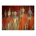 luang buddhas postcards