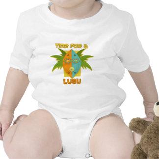 Luau 4 baby bodysuit
