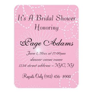Luau Aloha Hawaiian Blossoms Bridal Shower Card