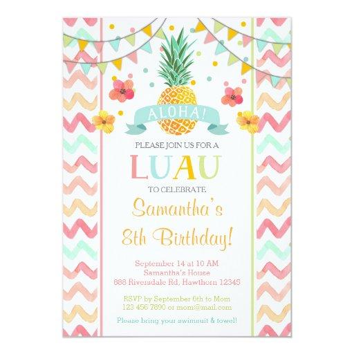 Unique Luau Invitations was amazing invitation design