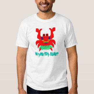 luau crab shirt