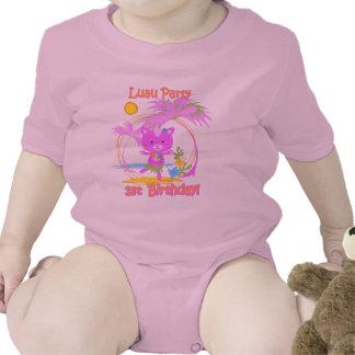 Luau Party 1st Birthday Baby Onsie Tees
