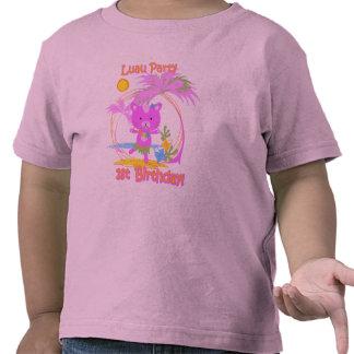 Luau Party 1st Birthday Toddler Tshirt