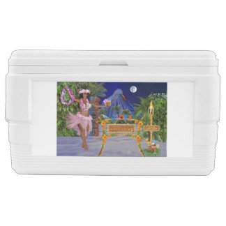 LUAU PARTY CHEST COOLER