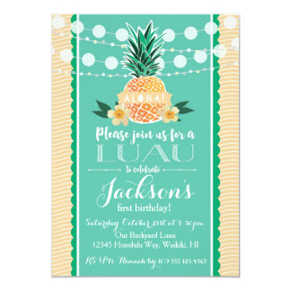 luau party invitations  announcements  zazzle, invitation samples