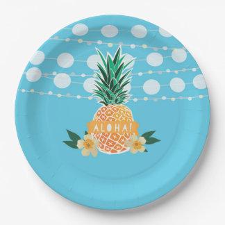 Luau Party Plates